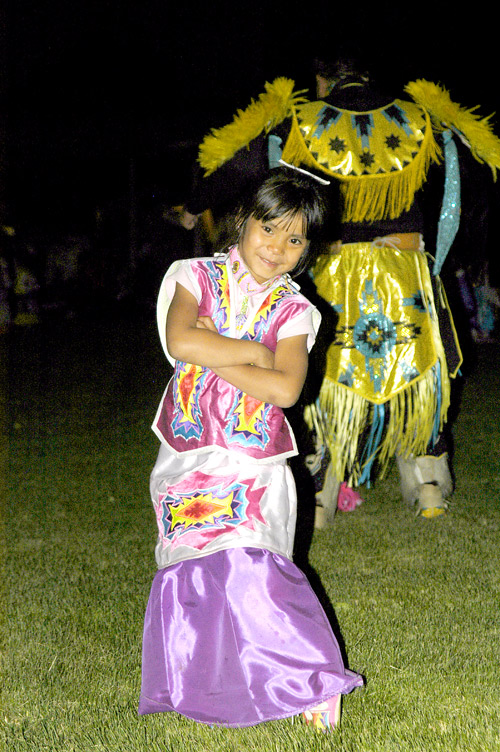 Lileya, Pow Wow Dancer, 2006 © Mickey Cox 2006