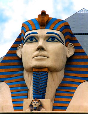 The Sphinx at The Luxor, 2003