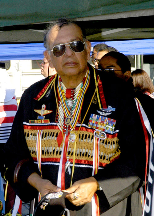 Marshall Tall Eagle, Creator of the Warrior's Medal of Valor, © Mickey Cox 2006
