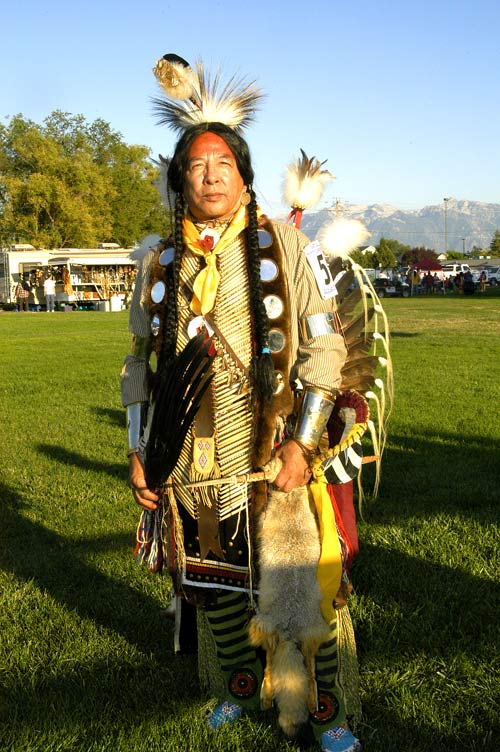 Roshi Tome' Roubideaux, Lakota , West Valley Pow Wow, 2006, © Mickey Cox, 2005