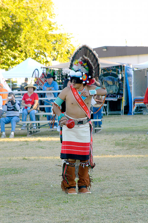 Zuni Turkey Dancer, 8th Annual Pahrump Pow Wow, Pahrump, Nevada 2006 - © Mickey Cox 2006