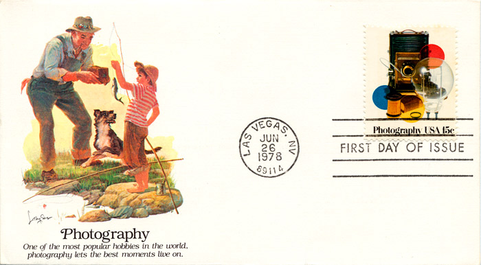 Photography, FDC, 1978